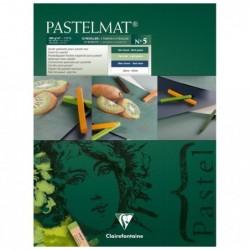CLAIREFONTAINE Bloc Pastelmat n°5 12F 30x40cm