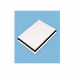 CLAIREFONTAINE Lot 10 Feuilles Carton Contrecollés Passe partout 1,25 mm A1 Blanc