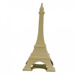 DÉCOPATCH Tour Eiffel Parisienne 22cm à Décorer