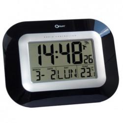ORIUM Pendule digitale radio-contrôlée finition laquée 22 x 18 cm