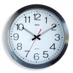 ORIUM Horloge étanche inox Ø 35 cm (1 Pile LR6 fournie)