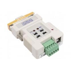 DEXLAN Convert boucle courrant/RS-232 avec cordon alim USB