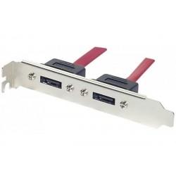DEXLAN Câble slot 2 ports...
