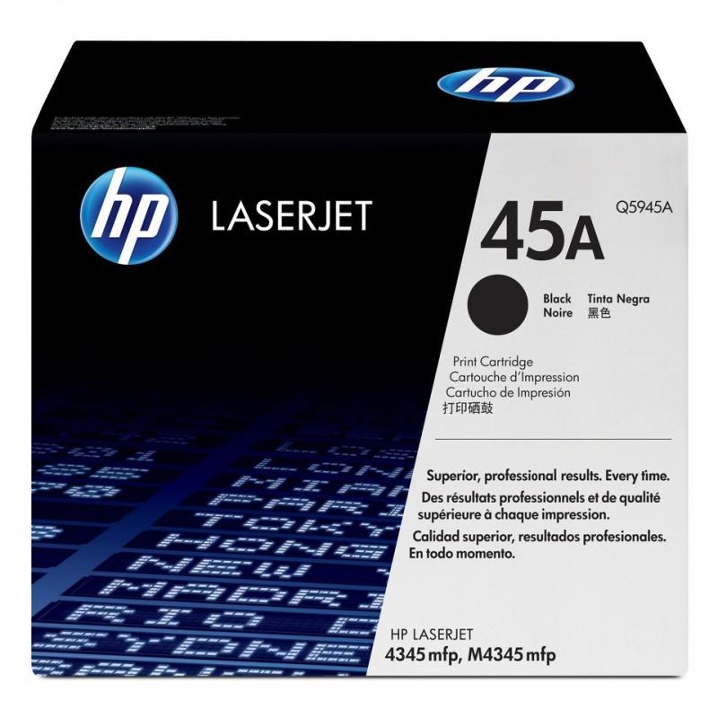 HP Toner Laser Original N°45A Q5945A 18000 Pages Noir