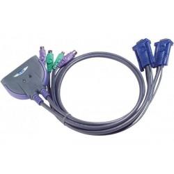 ATEN CS62S mini kvm 2 ports...