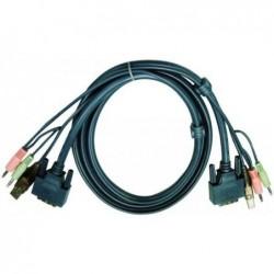 ATEN Câble KVM 2L-7D02UD -...
