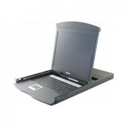 "DEXLAN Console lcd 19"" dual rail kvm 8P VGA/PS2-USB"