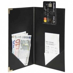 SECURIT Pochette pour addition CLASSIC 13 x 23 cm Noir