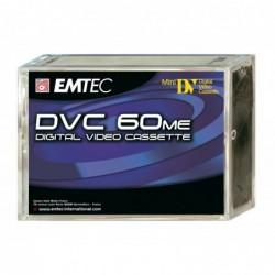 EMTEC Pack de 5 Mini Cassette Vidéo Mini DV - DVC 60 minutes