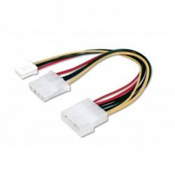 DIGITUS câble d'alimentation interne Y-power IDE - IDE + disquette
