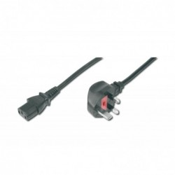 DIGITUS Câble d'alimentation connecteur UK 90° angled vers C13