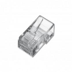 DIGITUS Modular plug pour câble plat, 8P8C Non blindé