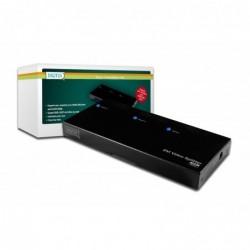 DIGITUS DVI Video/Audio Splitter. 1 PC-2 Monitors/Speakers 1xDVI/F+Audio (Video In)-2XDVI/F+Audio (Video Out)
