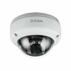 D-LINK Caméra IP dôme Full HD PoE extérieure IR 20m  WDR
