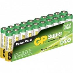 GP Pack 24 Piles SUPER ALKALINE AAA/LR03 1,5V