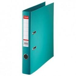 ESSELTE Classeur en plastique Standard, A4, 50 mm, turquoise