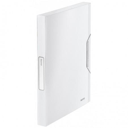 LEITZ Boîte de classement Style dos de 30 mm Blanc