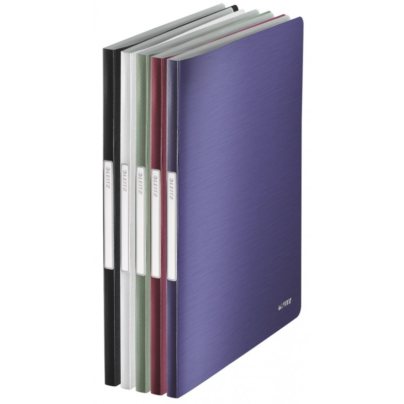 LEITZ Reliure protège-documents Style 40 pochettes Assorti aléatoire
