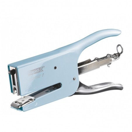 RAPID Pince agrafeuse Retro Classic K1 26/6-8 Bleu Fondant Blue