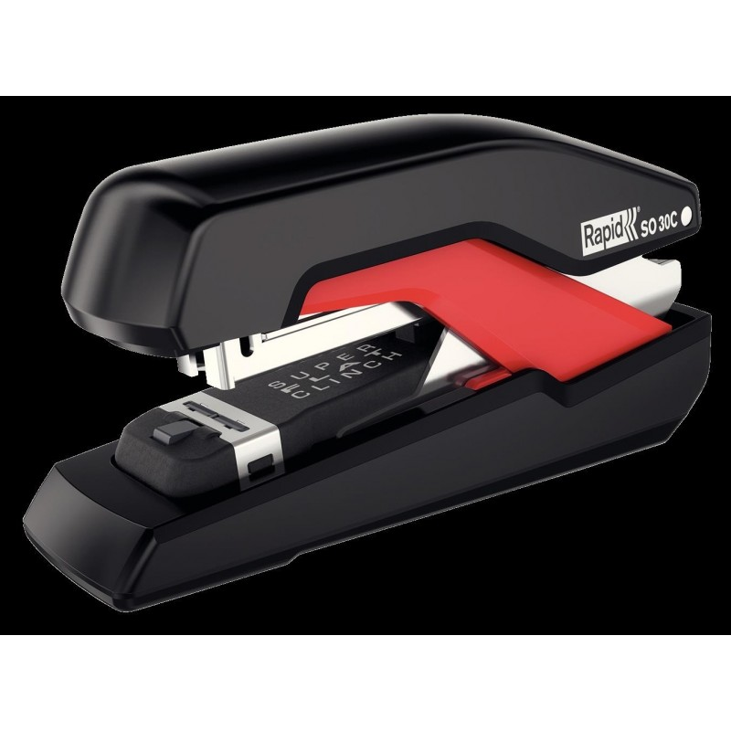 RAPID Agrafeuse Supreme Compact SO30c Noir Rouge