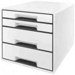 LEITZ Bloc de classement 4 tiroirs - Blanc