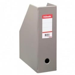 ESSELTE Boîte de classementt PVC Dos de 100mm VIVIDA gris