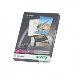 LEITZ Pochette à plastifier iLAM UDT A5 Brillante 250 Microns (2x125) Pqt de 100