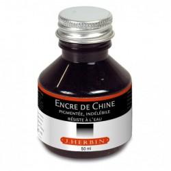 HERBIN Encre de Chine 50ml Noir