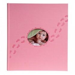 EXACOMPTA Album photos livre 60 pages Piloo 29x32cm Rose