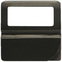 EXACOMPTA Boîte de 24 onglets alphabétiques à fenêtre 50mm de largeur Noir