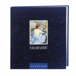 EXACOMPTA Répertoire adresse thématique Toulouse Lautrec 195x175 195x175 mm