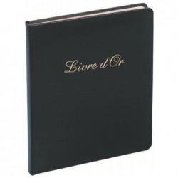EXACOMPTA Livre d'or cuir Alpille 26X22 noir +/t