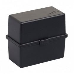 EXACOMPTA Boite à fiches MEMO-BOX A8 noir