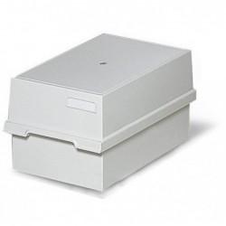 EXACOMPTA Boîte 1000 fiches A6 gris lumière