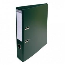 EXACOMPTA Classeur à levier PVC A4 D70mm Premium vert foncé
