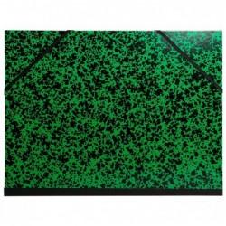 EXACOMPTA Carton à dessin Annonay avec élastiques 26x33cm A4 maxi vert