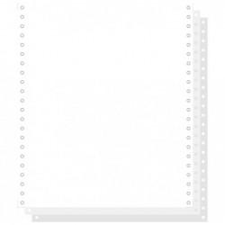"""EXACOMPTA 1000 feuilles de listing autocopiantes blanc 240x11"""" 3plis Détachables Blanc"""