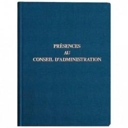 EXACOMPTA Registre 29,7x21 cm PRESENCE Conseil d'administration 100 pages