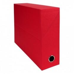 EXACOMPTA Bte transfert D90 papier toile rouge