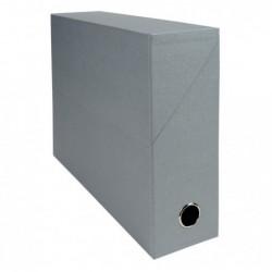 EXACOMPTA Bte transfert D90 papier toile gris