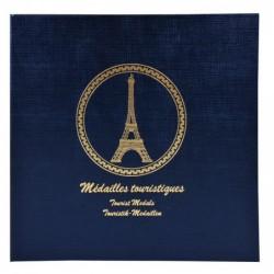 EXACOMPTA Classeur pour 100 médailles touristiques