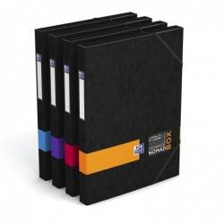 """OXFORD Boite de Classement """"NOMAD BOX"""" ETUDIANT 33x25 cm Dos de 25 mm Coloris Aléatoire"""