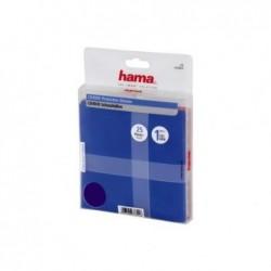 HAMA Pochettes de protection pour CD/DVD paquet de 25 assortiment de couleurs