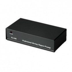 """HAMA Préamplificateur phono stéréo """"PA 506"""" + alim. secteur 230V/50 Hz Noir"""