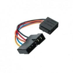 HAMA Adaptateur automobile universel alimentation en courant DIN - ISO