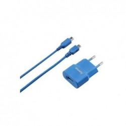 HAMA Chargeur USB pour Nintendo 3DS bleu