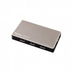 HAMA Hub USB 3.0 1:4 avec fonction de charge et bloc secteur