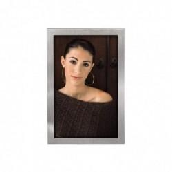 HAMA Cadre photo BRISTOL pour portrait argenté 15 x 20 cm