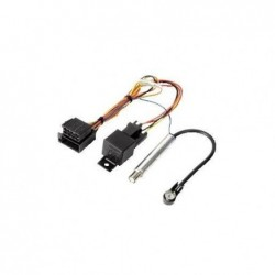 HAMA Kit de connexion pour autoradio Audi/VW ISO - ISO