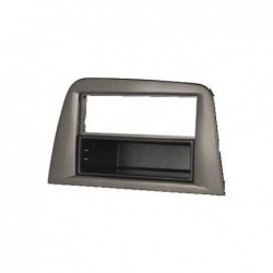 HAMA Support de montage 1-DIN pour autoradio pour Seat Noir